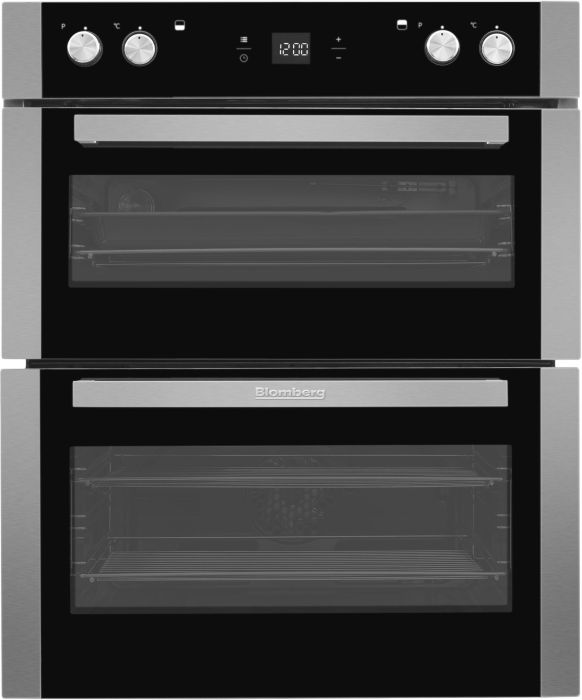 Blomberg Double B/U Oven Electric OTN9302X - Stainless Steel Image 1
