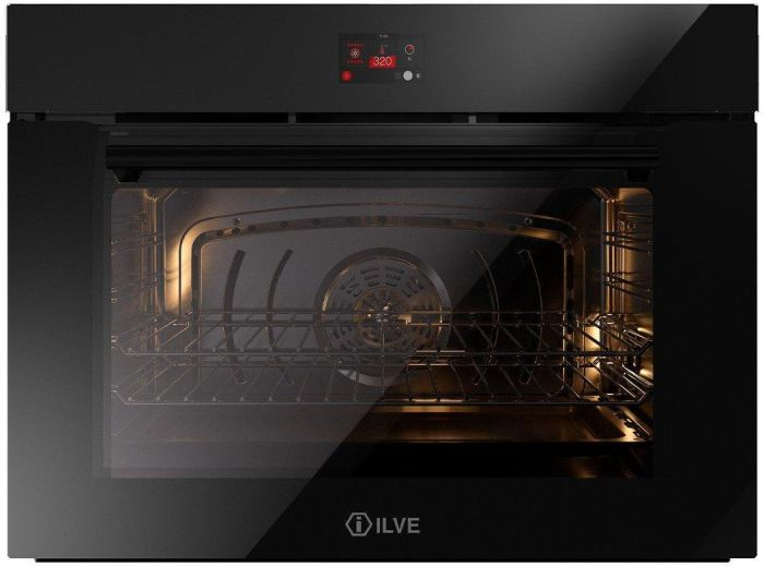 Ilve Single Oven Electric OV80STCT3 - Black Image 1