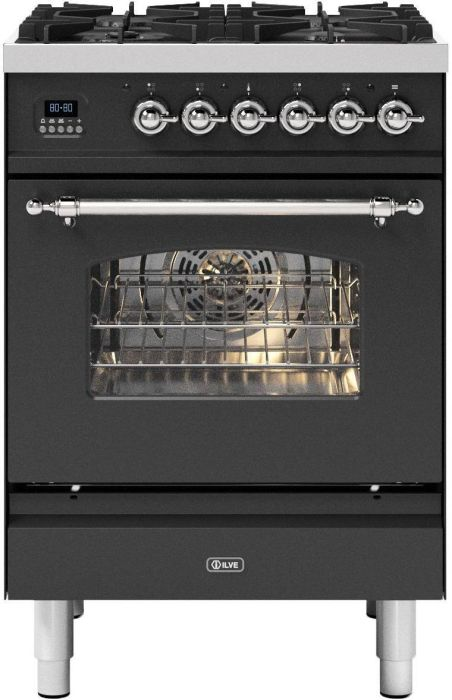 Ilve Slot In Cooker Dual Fuel P06NE3 - Various Colours Image 1