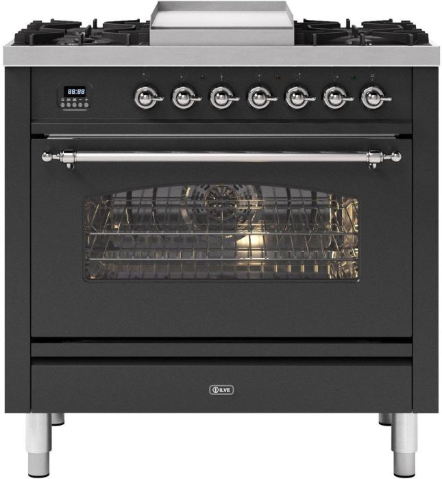 Ilve Range Cooker Dual Fuel P09FNE3 - Various Colours Image 1