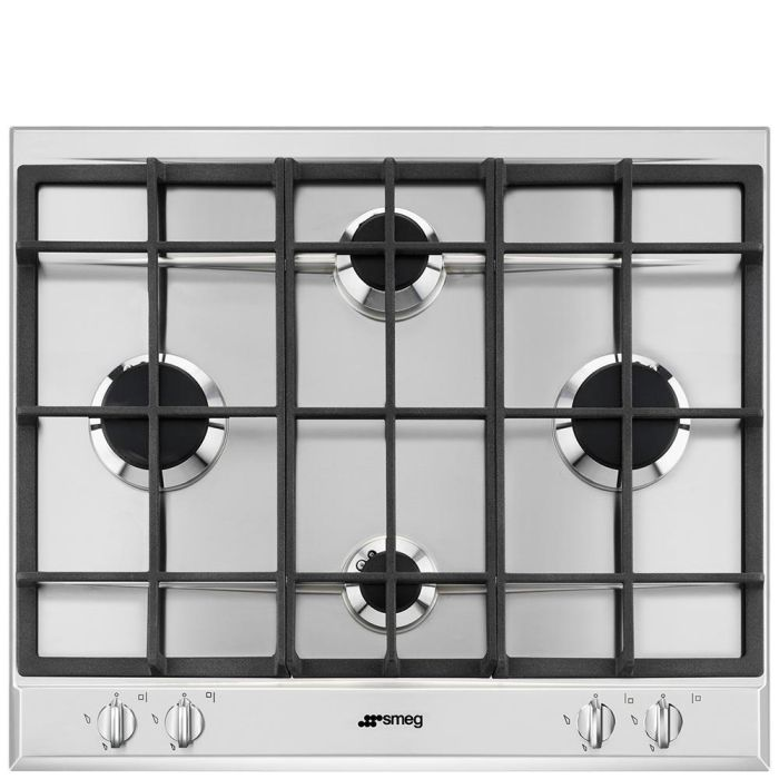 Smeg Gas Hob P260XGH - Stainless Steel Image 1