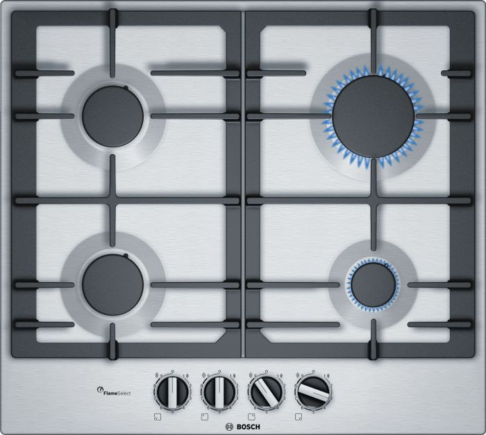 Bosch Gas Hob PCP6A5B90 - Stainless Steel Image 1