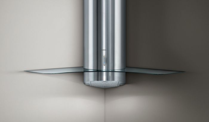 Elica Chimney Hood PERSONAL - Stainless Steel / Glass Image 1