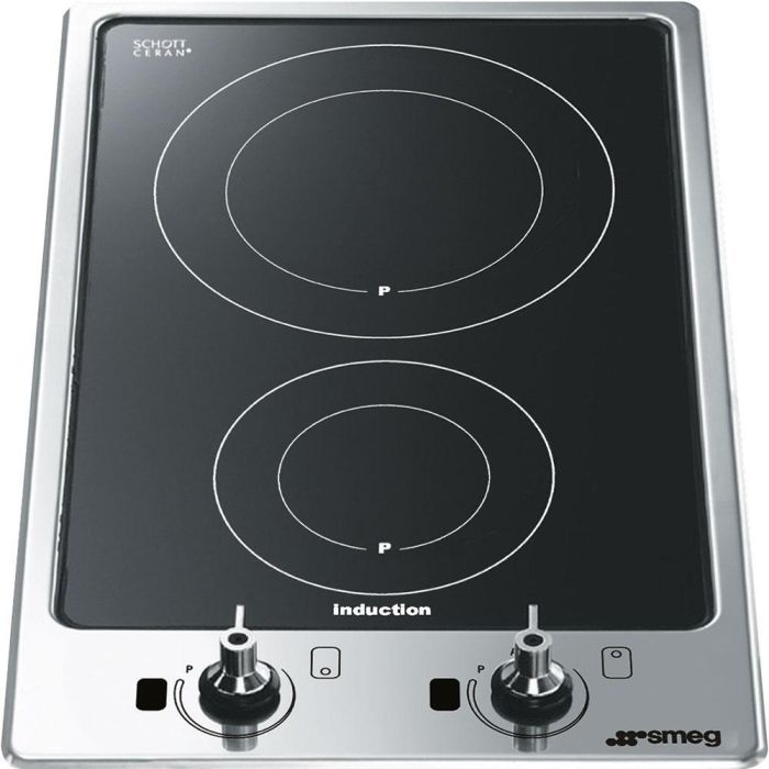 Smeg Induction Domino PGF32I-1 - Stainless Steel Image 1