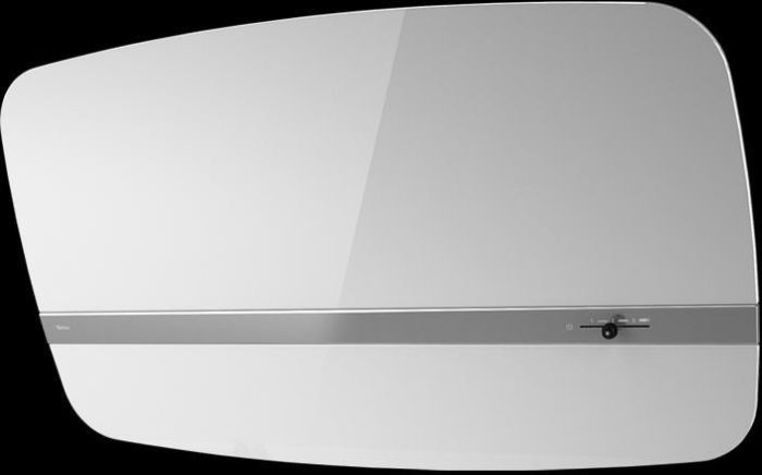 Westin Wall Mounted Hood PLANCHA-800-I-WH - White Glass Image 1