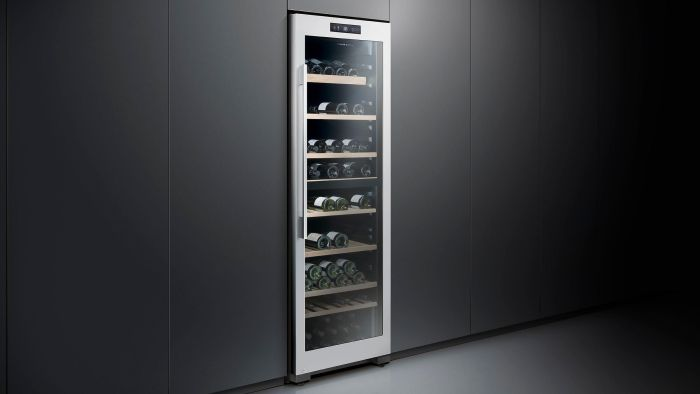 Fisher & Paykel Freestanding Wine Cooler RF306RDWX1 - Stainless Steel Image 1