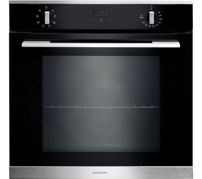 Rangemaster Single Oven Electric RMB608BL-SS - Stainless Steel Image 1