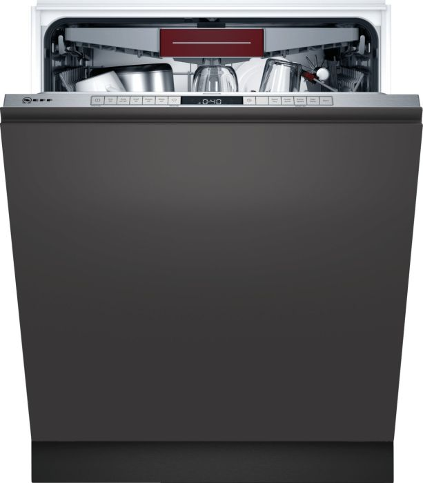 NEFF Built In 60 Cm Dishwasher Fully S355HCX27G - Fully Integrated Image 1