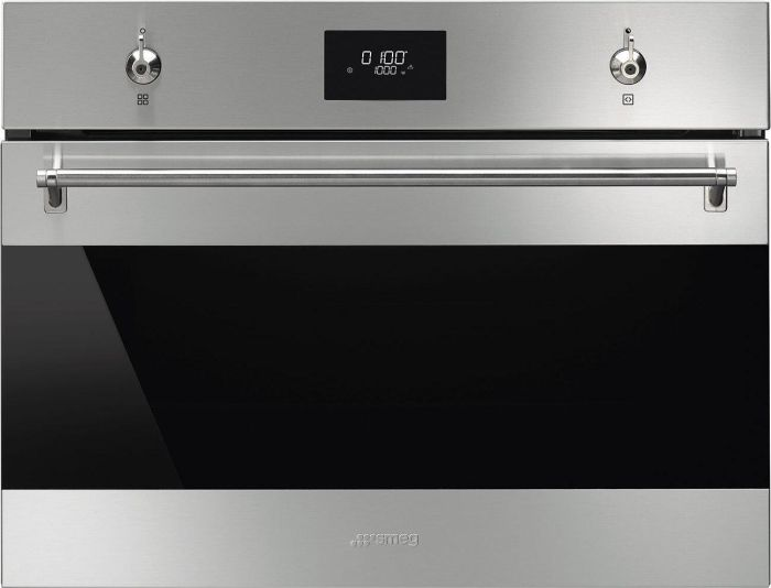 Smeg Combi Microwave SF4301MCX - Stainless Steel Image 1