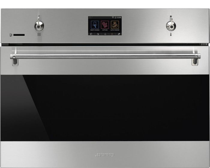 Smeg Combi Microwave SF4303WMCX - Stainless Steel Image 1