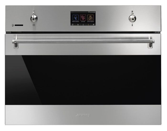 Smeg Steam Combi Oven SF4303WVCPX - Stainless Steel Image 1