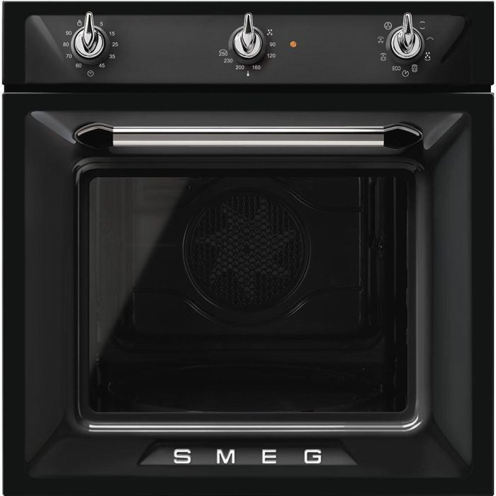 Smeg Single Oven Electric SF6905N1 - Black Image 1
