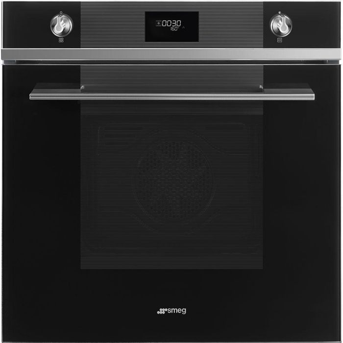 Smeg Single Oven Electric SFP6101TVN1 - Black Image 1