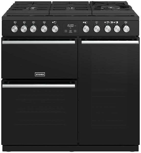 Stoves Range Cooker Dual Fuel ST-PREC-DX-S900DF-GTG - Various Colours Image 1