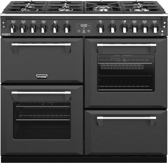 Stoves Range Cooker Dual Fuel ST-RICH-DX-S1000DF-CB - Various Colours Image 1