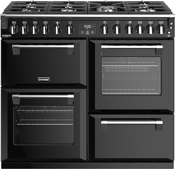 Stoves Range Cooker Dual Fuel ST-RICH-DX-S1000DF - Various Colours Image 1