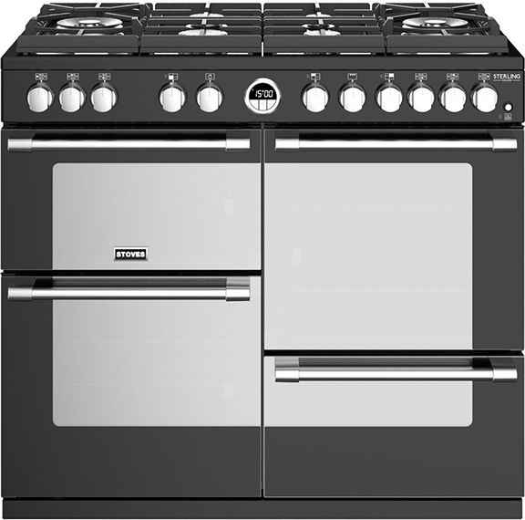 Stoves Range Cooker Dual Fuel ST-STER-DX-S1000DF-GTG - Various Colours Image 1