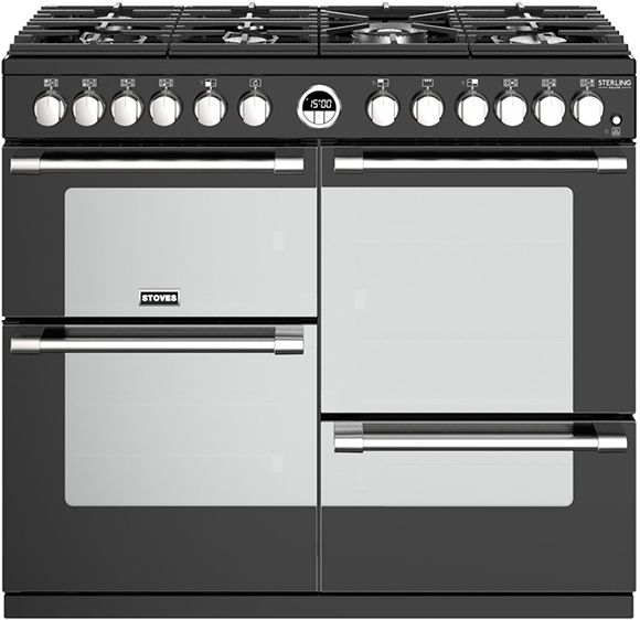 Stoves Range Cooker Dual Fuel ST-STER-DX-S1000DF - Various Colours Image 1