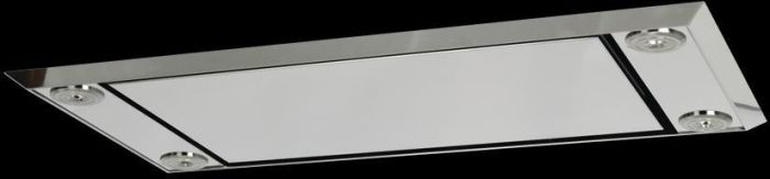 Westin Ceiling Integrated STRATUS-COMPACT-900X440-SEM8-MIR - Mirrored Stainless Steel Image 1