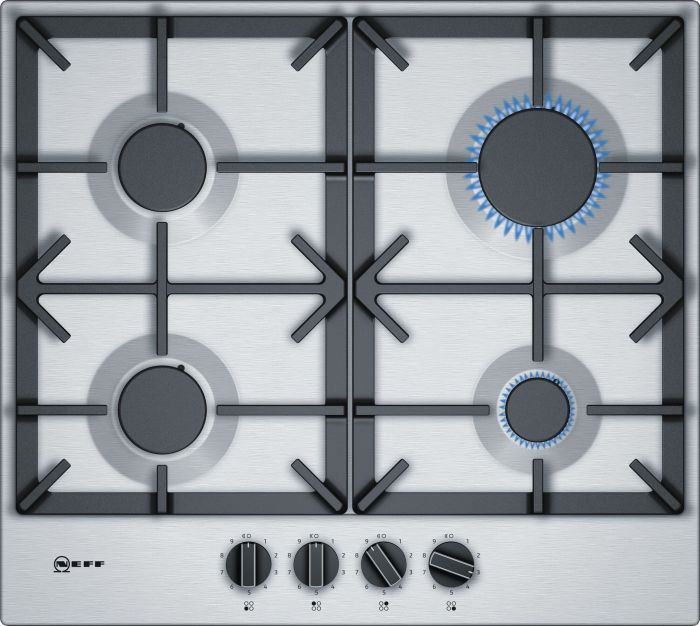 NEFF Gas Hob T26DS49N0 - Stainless Steel Image 1