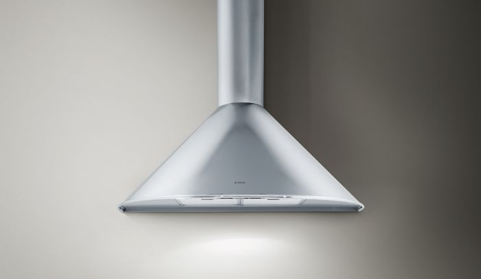 Elica Chimney Hood TONDA90 - Stainless Steel Image 1