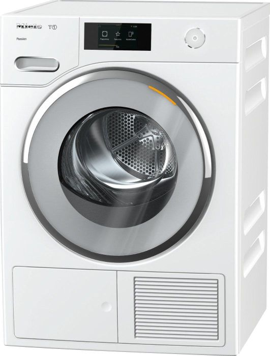 Miele Freestanding Condenser Tumble Dryer Heat Pump TWV680WP - White Image 1