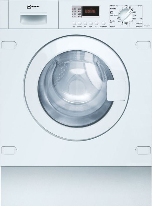 NEFF Built In Washer Dryer Fully V6320X1GB - Fully Integrated Image 1