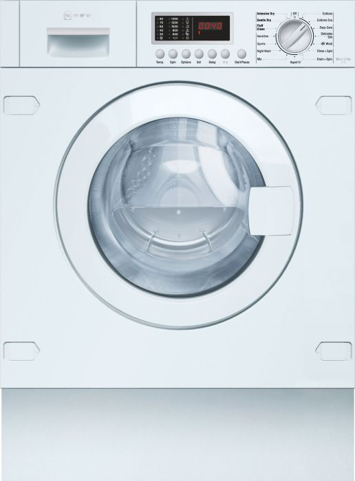 NEFF Built In Washer Dryer Fully V6540X1GB - Fully Integrated Image 1