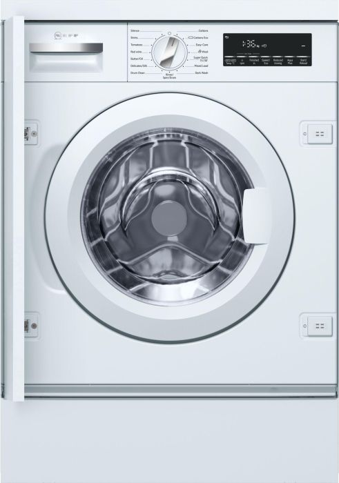 NEFF Built In Washing Machine Fully W544BX0GB - Fully Integrated Image 1