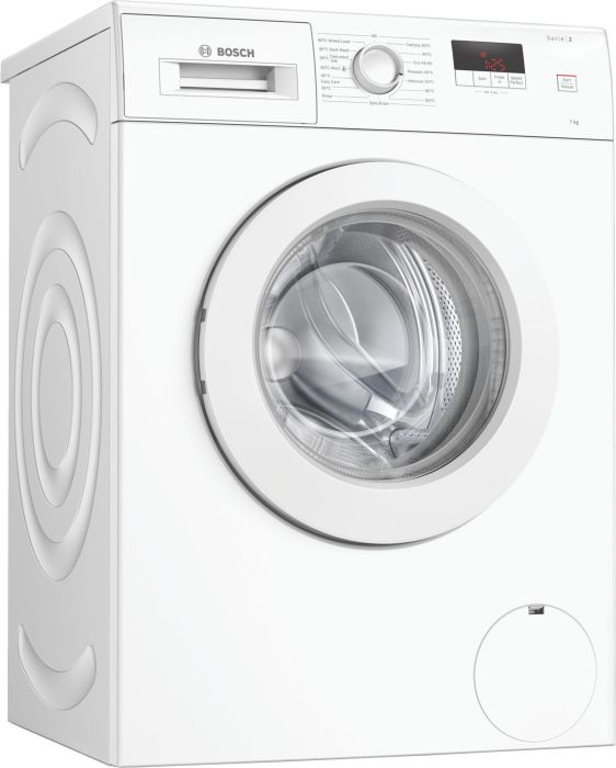 Bosch Freestanding Washing Machine WAJ28008GB - White Image 1
