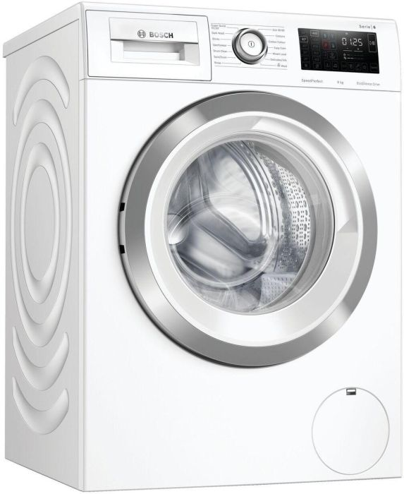 Bosch Freestanding Washing Machine WAU28R90GB - White Image 1