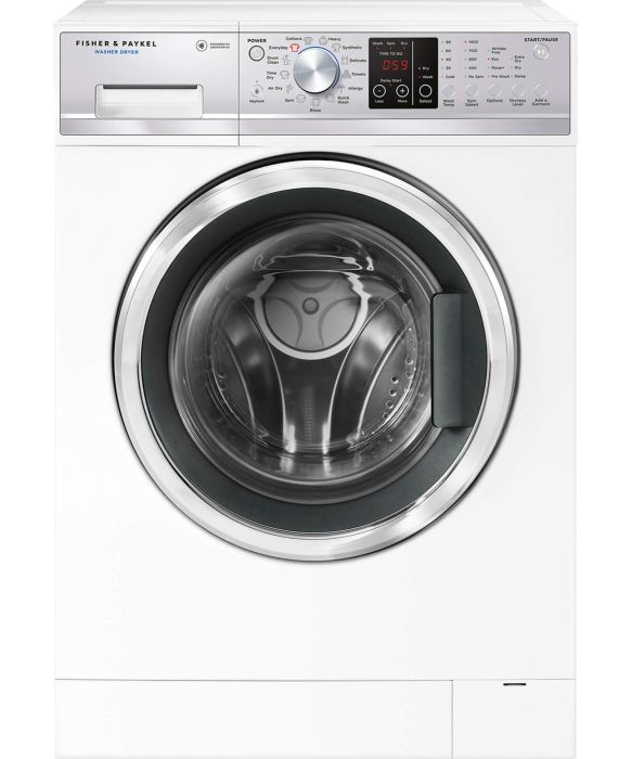 Fisher & Paykel Freestanding Washer Dryer WD8060P1 - White Image 1