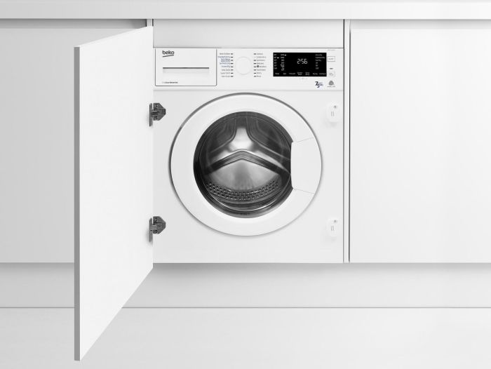 Beko Built In Washer Dryer Fully WDIC752300F2 - Fully Integrated Image 1