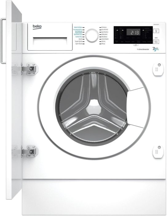 Beko Built In Washer Dryer Fully WDIK752121F - Fully Integrated Image 1