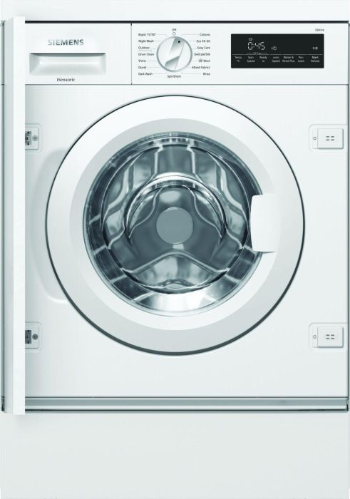Siemens Built In Washing Machine Fully WI14W501GB - Fully Integrated Image 1