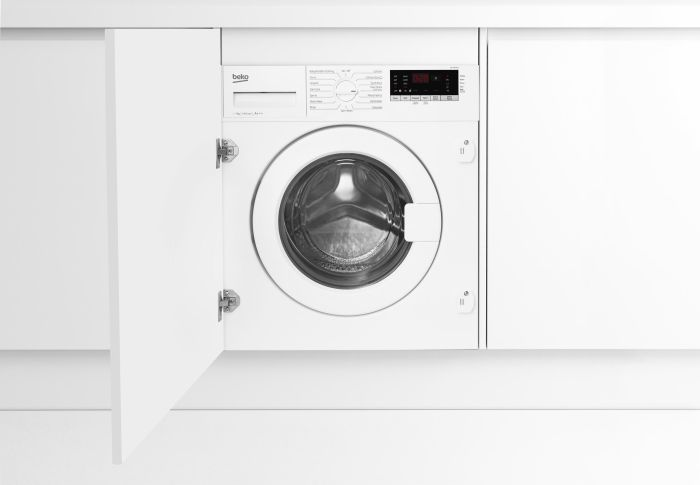 Beko Built In Washing Machine Fully WIC74545F2-EX-DISPLAY - Fully Integrated Image 1