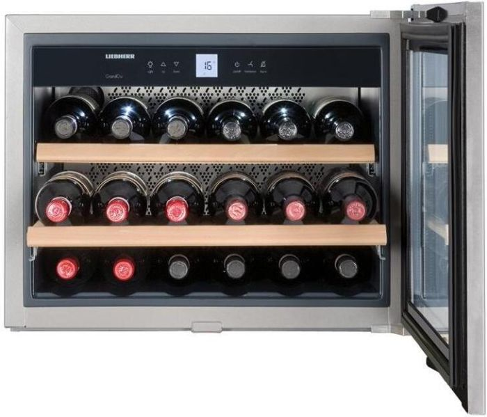 Liebherr Built In Wine Cooler WKEES553 - Stainless Steel Image 1