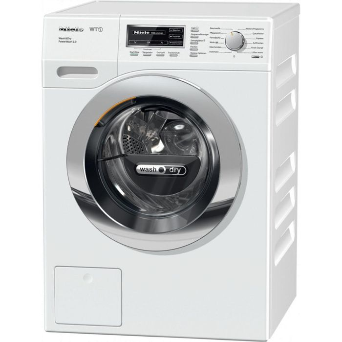 Miele Freestanding Washer Dryer WTF130WPM - White Image 1