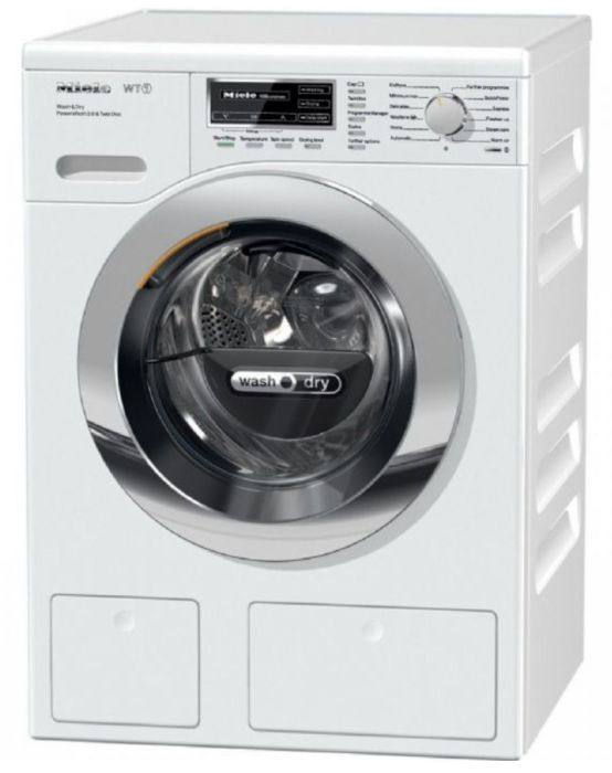 Miele Freestanding Washer Dryer WTH120WPM - White Image 1
