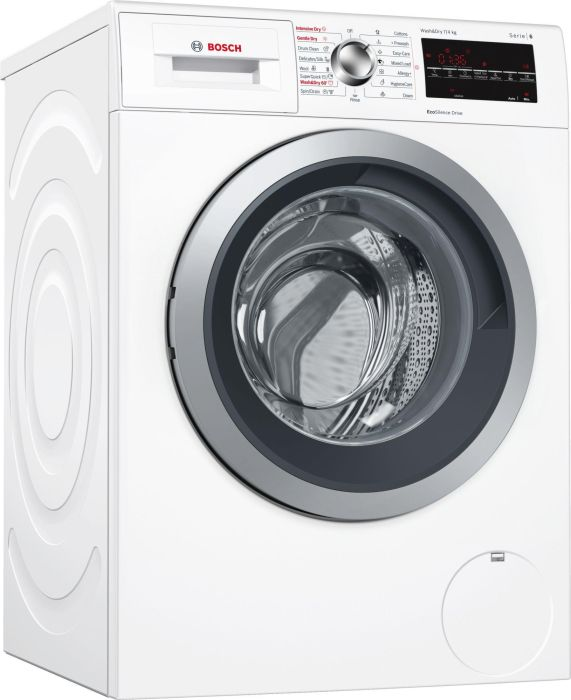 Bosch Freestanding Washer Dryer WVG30462GB - White Image 1