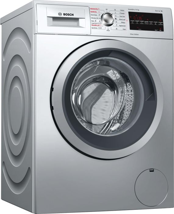 Bosch Freestanding Washer Dryer WVG3047SGB - Silver Image 1