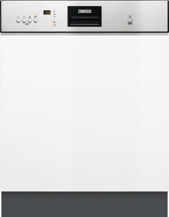 Zanussi Built In 60 Cm Dishwasher Semi ZDI26022XA - Stainless Steel Image 1
