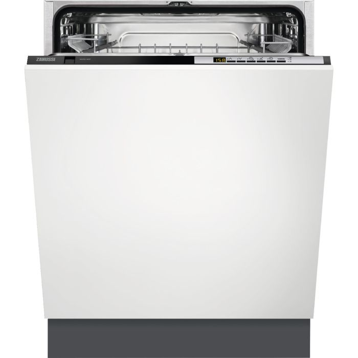 Zanussi Built In 60 Cm Dishwasher Fully ZDT26030FA - Fully Integrated Image 1