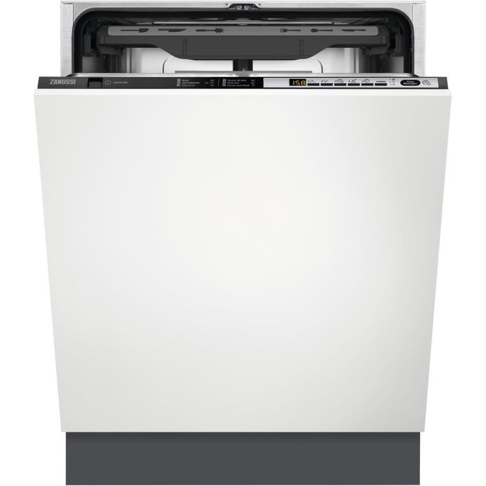 Zanussi Built In 60 Cm Dishwasher Fully ZDT36001FA - Fully Integrated Image 1