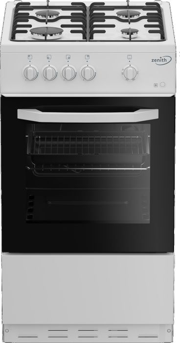 Zenith Slot In Cooker Gas Nat ZE501W - White Image 1