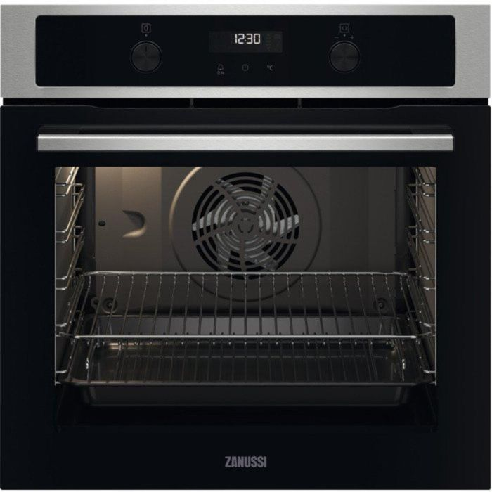 Zanussi Single Oven Electric ZOCND7X1 - Stainless Steel Image 1