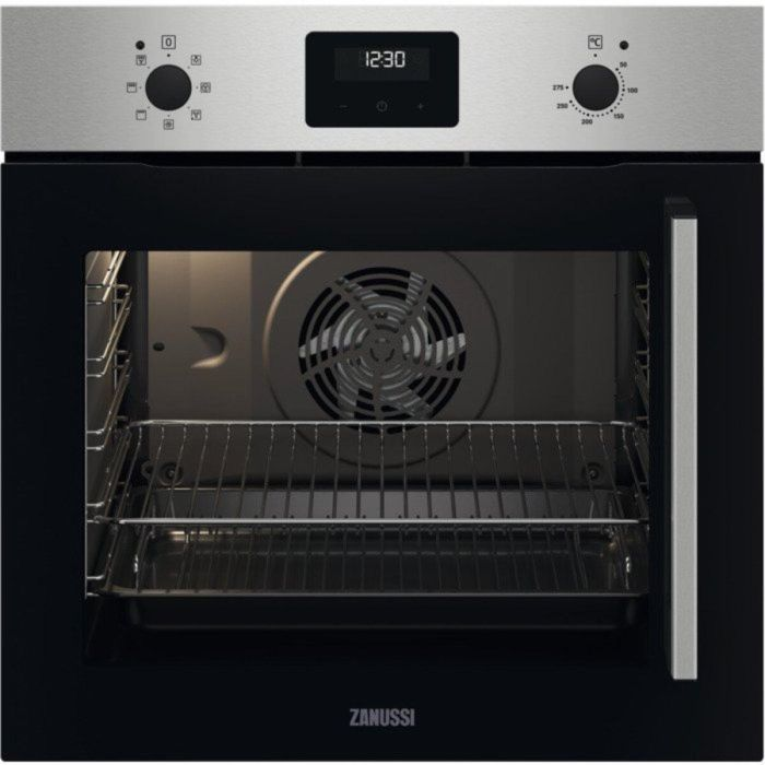 Zanussi Single Oven Electric ZOCNX3XL - Stainless Steel Image 1