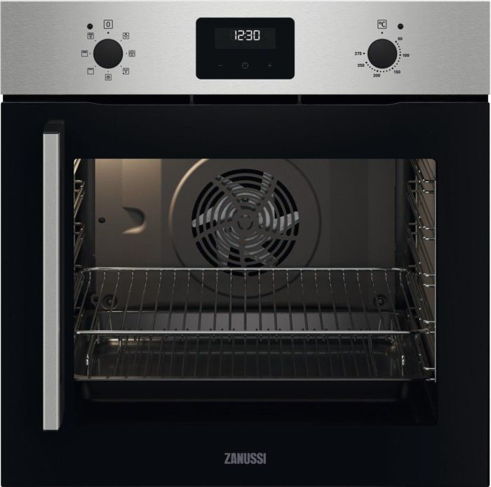 Zanussi Single Oven Electric ZOCNX3XR - Stainless Steel Image 1