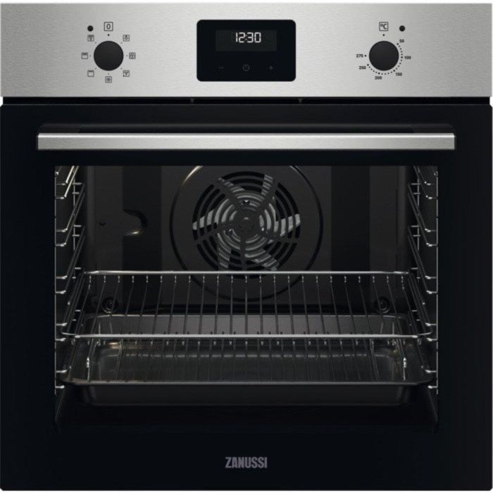 Zanussi Single Oven Electric ZOHNX3X1 - Stainless Steel Image 1