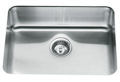 Kohler 1.0 Bowl Sink 3325-NA - Stainless Steel
